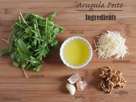 arugula pesto recipe culicurious