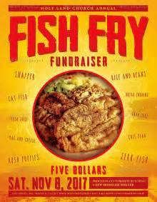 fish fry cookout flyer template preview flickr photo
