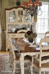 Country French Dining Rooms Dining Room Updates