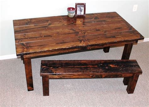 custom made dining room tables custom made authentic farmhouse dining room table in dark