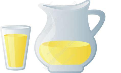 lemonade clipart pitcher and glass of lemonade clipart vector