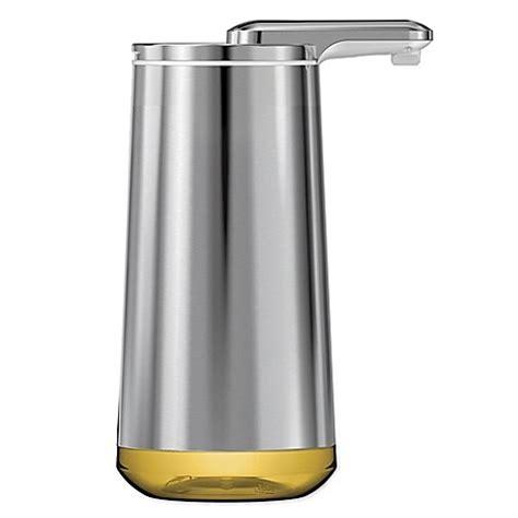 bed bath and beyond soap dispenser buy simplehuman 174 foam cartridge sensor pump dish soap