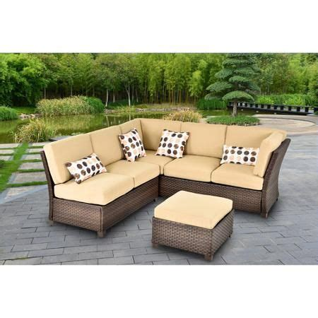 Sectional Sofa Deals Better Homes And Gardens Cadence Wicker 3 Outdoor