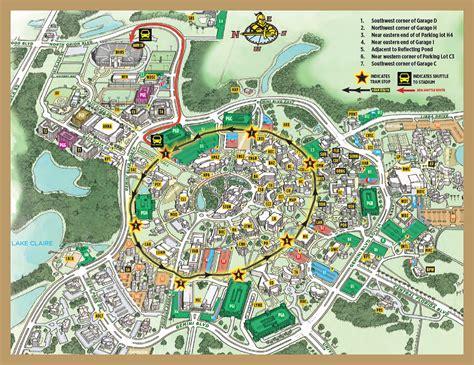 Garage F Ucf by Ucf Parking Map Adriftskateshop