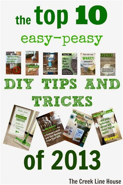 10 tips diy ideas to refresh your home for spring the top 10 easy peasy diy tips and tricks of 2013 the