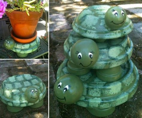 Dachshund Planter diy terracotta pot turtles that look cute