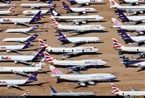Interactive Map Retired Fedex Boeing by G Bnli British Airways Boeing 747 400 At Victorville