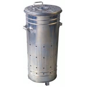 incin 233 rateur de jardin galvanis 233 120 litres oogarden
