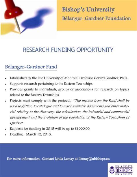 Laurentian Acceptance Letter B 233 Langer Gardner Foundation Accepting Applications Townships Heritage Webmagazine