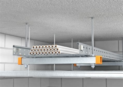 Ceiling Cable Tray System Description Cable Tray Rks Magic 174 As Pendulum Suspension