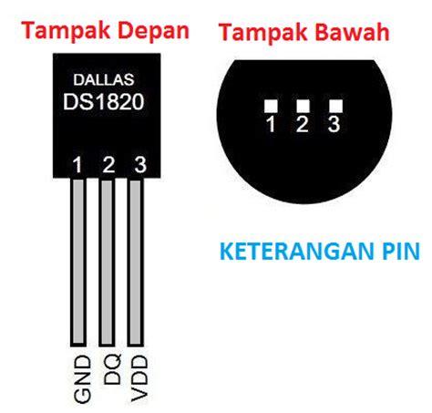 Sensor Suhu Ds18b20 tutorial menggunakan sensor suhu ds18b20 pada arduino narin laboratory