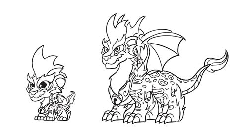 coloring pages of dragon city meet the dragon master kayla winner of our fan art