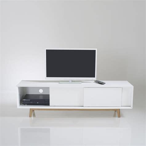 meuble tv bois la redoute artzein