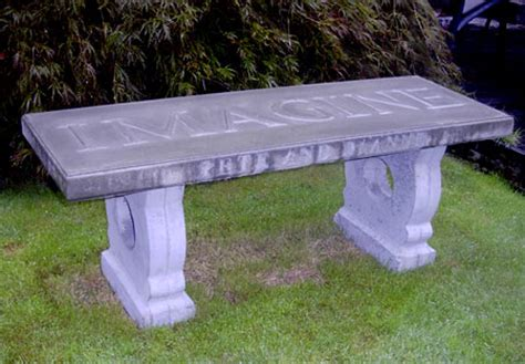 concrete garden bench mold wishing work outdoor bench seat diy