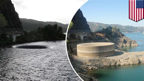 gibson dam morning glory spillway montana youtube lake berryessa glory hole spillway in center of attention
