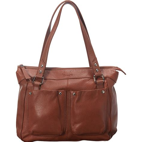 franco sarto lisbon satchel 2 colors leather handbag new