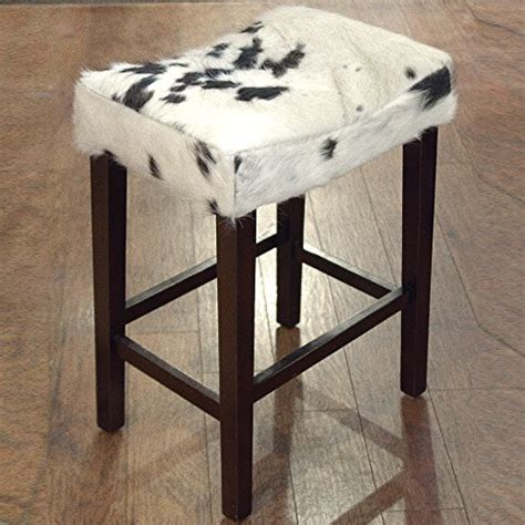 Faux Cowhide Counter Stools cowhide stool