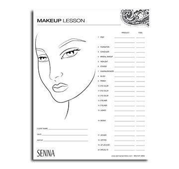 Makeup Face Charts To   Mugeek Vidalondon