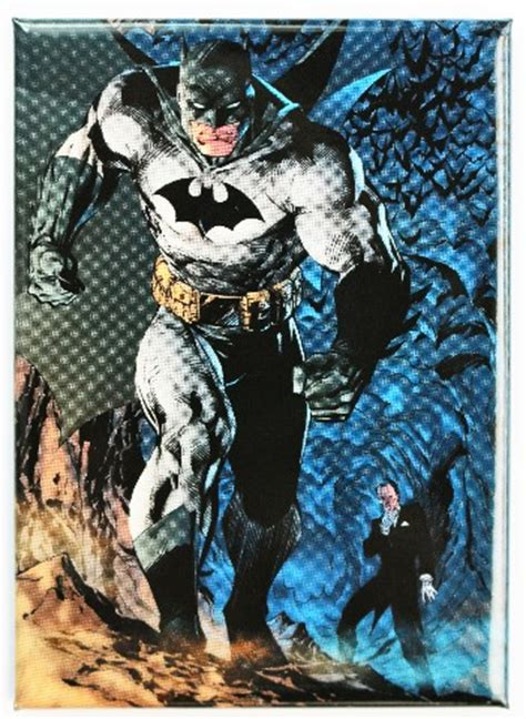 batman  dark night fridge magnet dc comics comic book