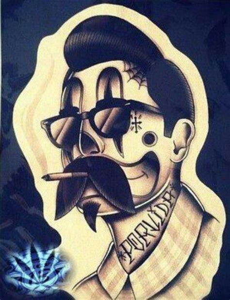 payaso tattoo designs payaso brown pride chicano brown pride