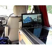 VW T4 Camper Van Pop Up Television  YouTube