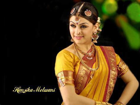 Hansika Motwani Wedding Saree Jewellry   SheClick.com