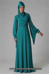 Green islamic clothing new modern fashion styles for hijab girls