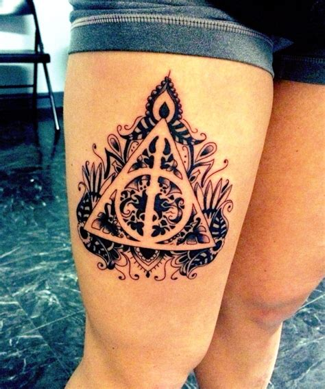 harry potter inspired thigh creativefan
