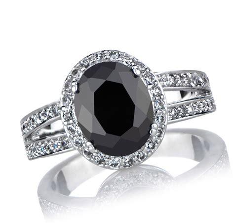 28 stunning black wedding rings for