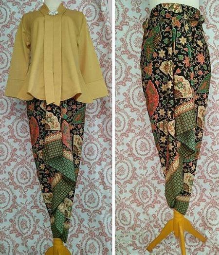 Rok Rok Lilit Celana Wanita Batik Wanita Kebaya Wanita Bawahan Wanita rok yang terbaru rok lilit batik yang tren dan ragam model