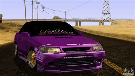 subaru legacy drift car subaru legacy drift union for gta san andreas