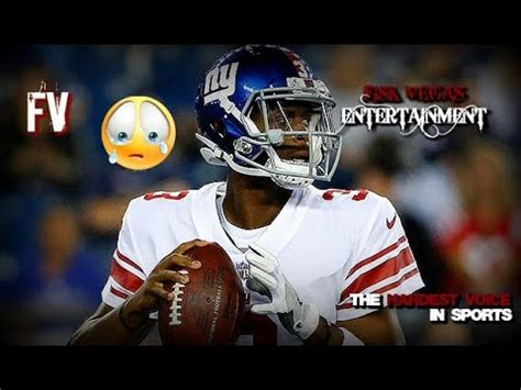 giants vs raiders reaction! we bench eli for this junk