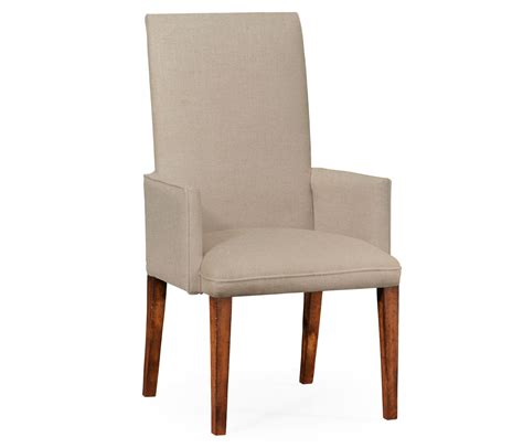 Wooden Dining Chairs With Arms Furniture Carved Grey Wooden Dining Chairs With Arms And Wicker Back Also White Fabric