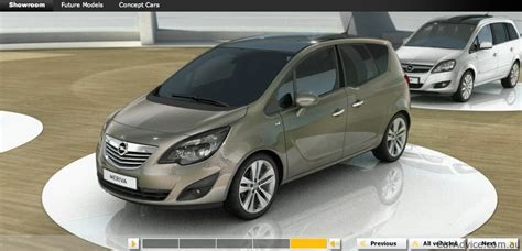 opel australia opel australia website features zafira meriva hints at