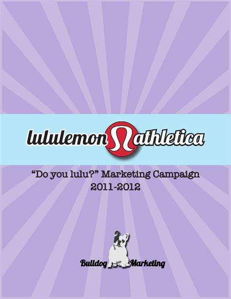 Mba Carolina Strategy by Lululemon Mba Marketing Plan