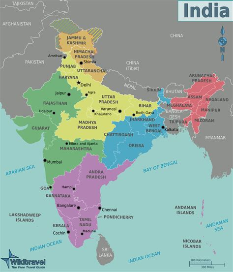 regions on a map map of india regions worldofmaps net maps and