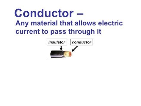 electrical conductors meaning in tamil conductors and insulators