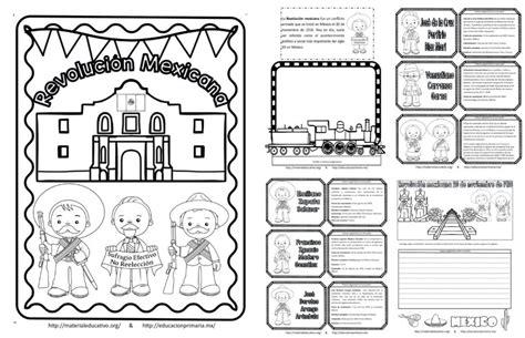 imagenes para trabajar la revolucion mexicana espectacular lapbook de la revoluci 243 n mexicana educaci 243 n
