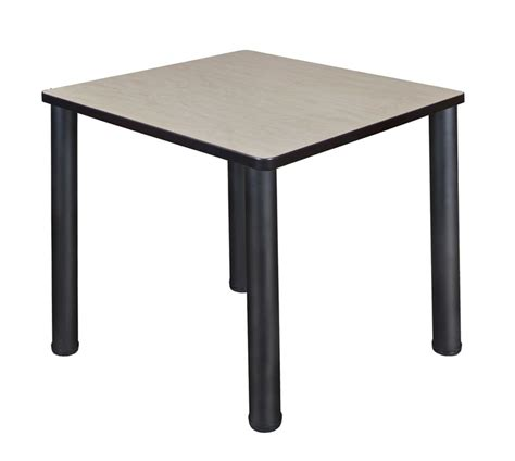 regency tb3030bp kee square breakroom table