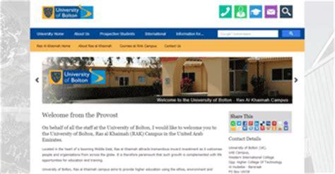 Mba Universities In Ras Al Khaimah by Study In Uae Top Universities In Ras Al Khaimah Uae