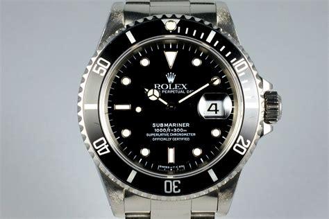 1995 Rolex Submariner 16610