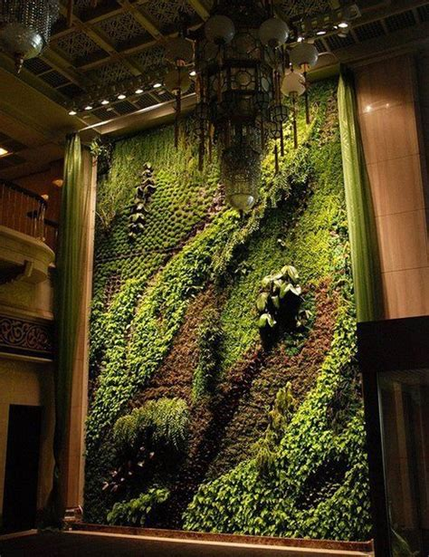 Indoor Wall Garden by Indoor Living Wall Vertical Garden Indoor And Outdoor
