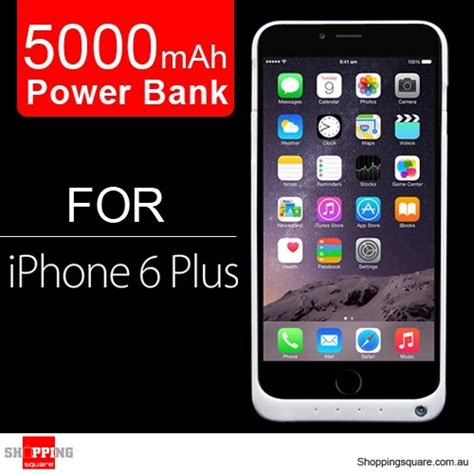 Battery Power Iphone 6 White 5000mah battery power bank charger for iphone 6 plus