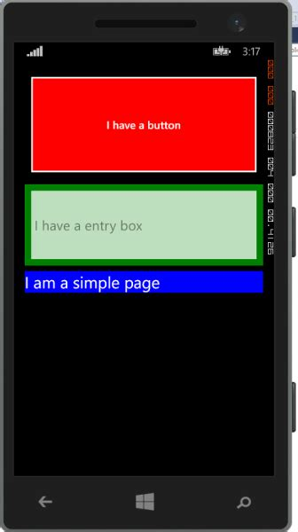 layout options xamarin forms getting started with xamarin forms layout options