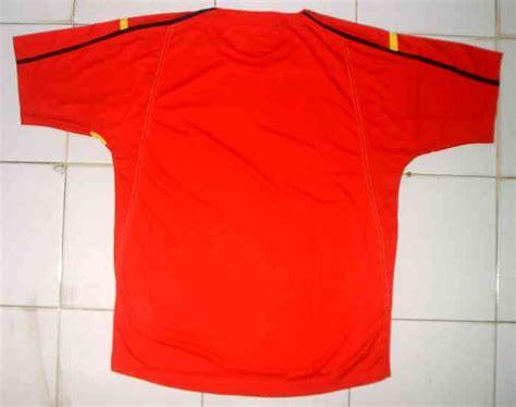 Kaos Nakal Original Dearly Merah kaos kerah kaos yonex asli original merah kuning badminton tennis