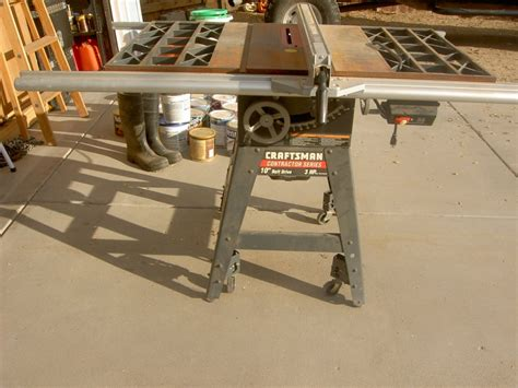 Belt Drive Table Saw by Tablesaw Craftsman Contractor Series 10 Quot Belt Drive 3hp