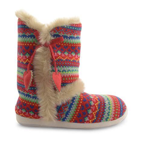 slipper boots new dunlop slipper boots faux fur lining winter