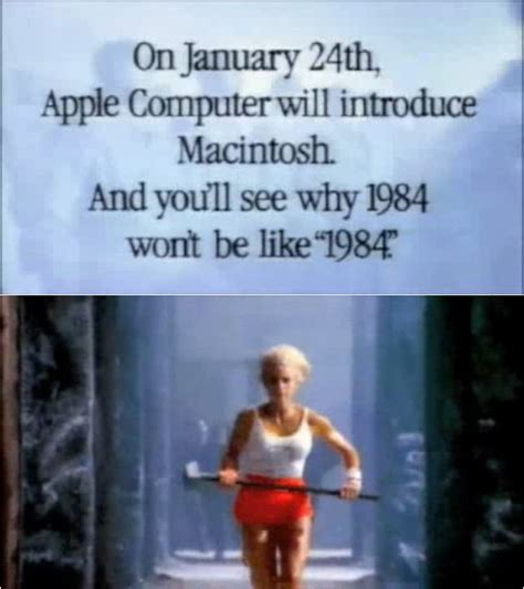 Remember 1984 Remember The Original Mac Advert by Ten Fantastic Facts About The History Of Marketing