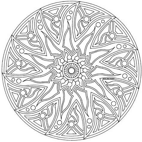 complex coloring page designs complex mandala colouring pages page 2 celtic mandala