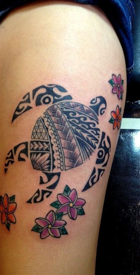 maui tribal tattoos tribal hawaiian turtle animal